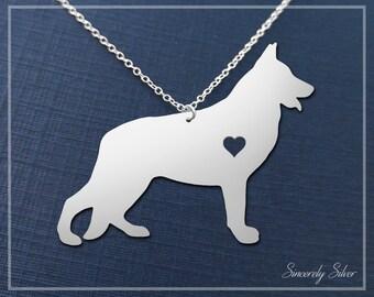 Shepherd Necklace, German Shepherd Necklace, Shepherd Pendant, Dog Necklace, Dog Lover Necklace
