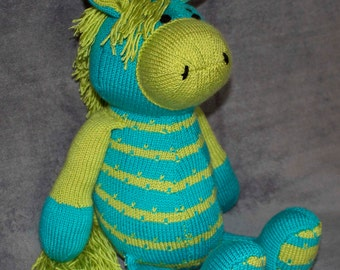 Hand knitted Donkey