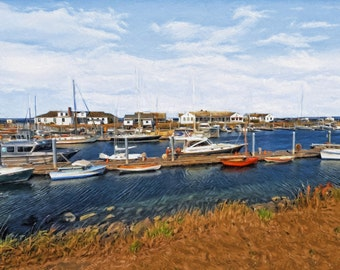Port of Port Townsend, Point Hudson Marina, Sailboats, Pacific Northwest, Olympic Peninsula, Nautical Art, Fine Art, Available on Canvas