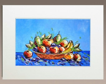 Original Oil Painting - Fruit Bowl