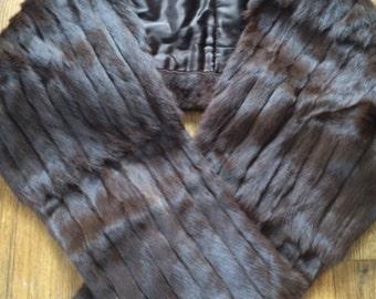Vintage Gatsby Marten stole /shawel/wrap