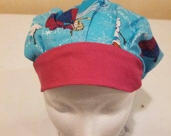 Frozen scrub hat