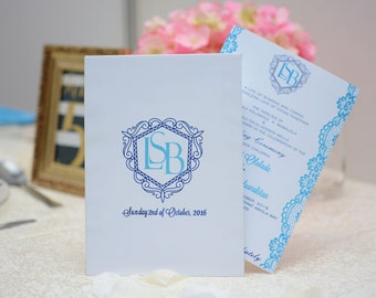 Wedding Invitation Template Download | DIY Wedding Invite | Instant Digital Download l Powder Blue Henna Wedding Invitation Card