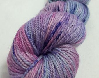 Hand Dyed Yarn - Supewash - DK weight - 100% Merino Wool - Variegated - 'You Gotta Be Knitting Me'
