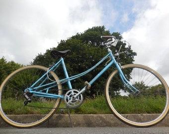 Cycling woman Motobécane blue very good condition