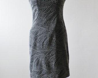 fantasy cloth dress black/grey sz. 44