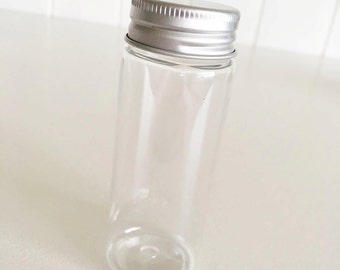 200 Plastic Bottles with Screw Cap 50ml / Favours / Food Packaging