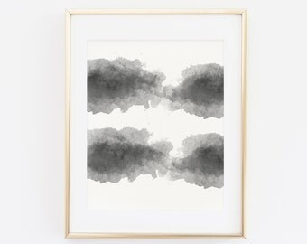 Black and White Modern Art Wall, Instant Download, Printable Wall Art, Home and Office Decor, Minimalist Print, Wall Art, Digital Print