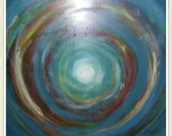 Abstract Oil Painting for sale.