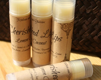 Cherished Lips-Lemon Coconut
