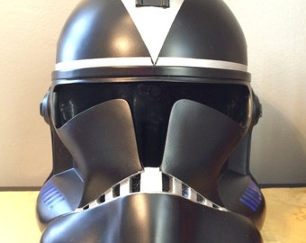 hand crafted Star Wars 212th Utapau Shadow Clone Trooper Helmet