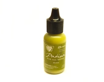 Ranger Vintaj patina 15ml bottle of moss green moss green