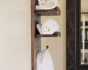 Towel Holder and Bath Tissue Holder