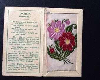 "Kensitas Flower Original ""Dahlia"" Small 1st Series"