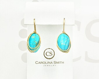 Cage Earring by Carolina Smith Jewelry