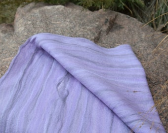 "Scarf""Purple creek"""