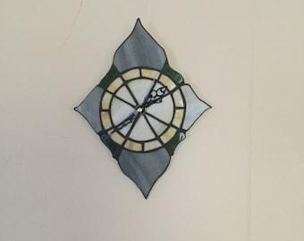 Handmade glass clock