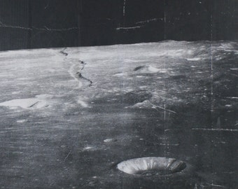 On Space #3, surface of the Moon