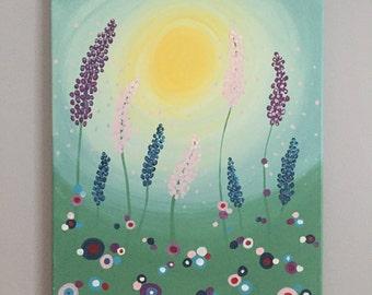 Polka Dot Flowers 3