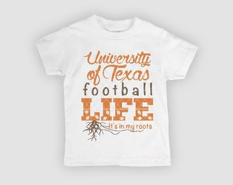 UT, University of Texas, Longhorn shirt, youth tee