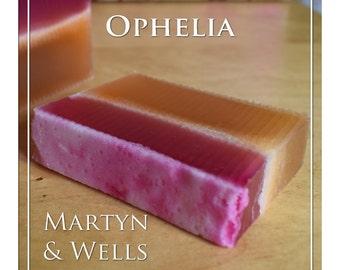 Handmade Soap: Ophelia - Orchid & Orange.