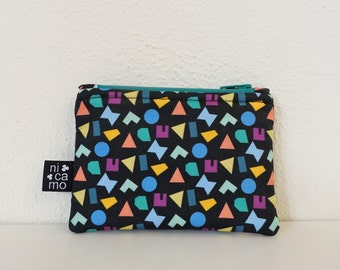 Wallet with graphic print