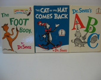 3 - Dr. Seuss Childrens Books