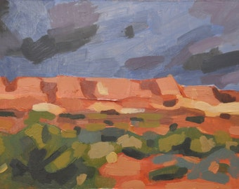 "Giclee print of ""View of Capital Reef National Park from Torrey, Utah"""