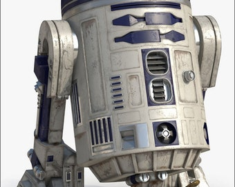 R2D2 Poster, Star Wars Poster