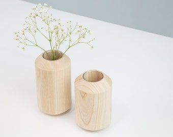 TAKK vases set of 2, ash