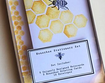 Stationery Honeybee  Stationery Set