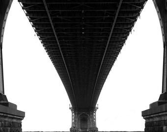 New York City Williamsburg Brooklyn Bridge Photograph