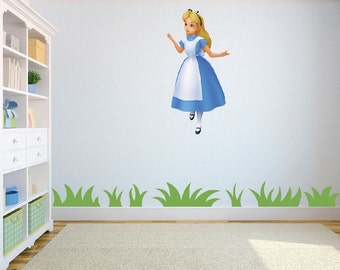 High Quality Alice In Wonderland Wall Decals Roselawnlutheran