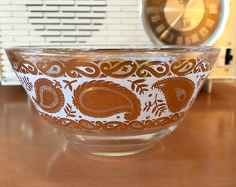 Georges Briard Paisley Bowl