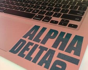 Alpha Delta Pi Block Decal