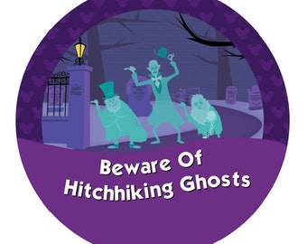 Beware of Hitchhiking Ghosts – The Haunted Mansion