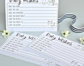 Stork 'Baby Wishes' Baby Shower Game