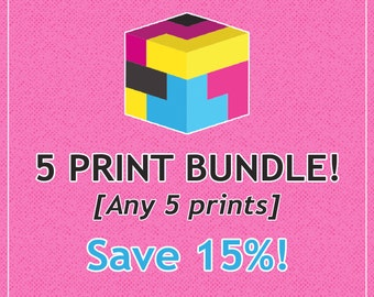 Buyers Choice 5-Pack // Any 5 Prints // Save 15%!!