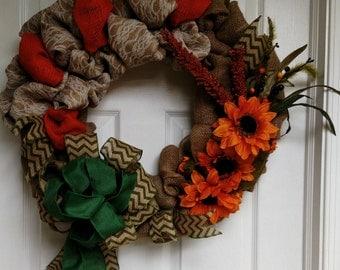 Fall Ready Wreath