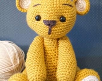 Teddy Bear crochet amigurumi high quality toy!
