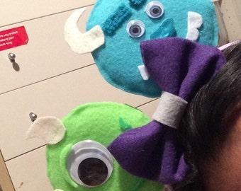Monsters Inc DIY minnie ears!