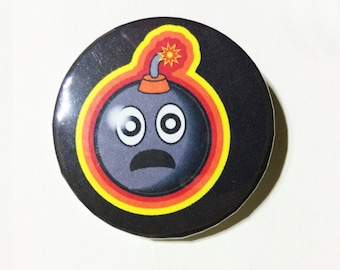Horrified LifeBomb pin