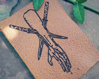 Skewered Arm - Leather Patch