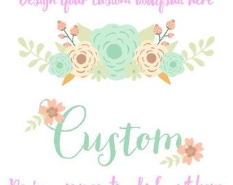 Custom couisn tshirt and baby bodysuit