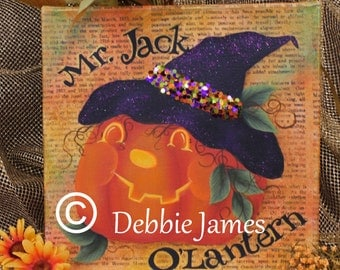 Jack O'Lantern by Debbie James