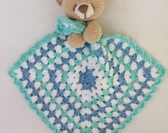 Crochet Crocheted Forever friends Forever friends blanket/cuddle blanket