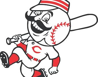 Cincinnati Reds   Decal/Sticker