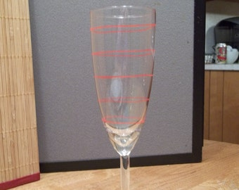 Line Champagne Glass