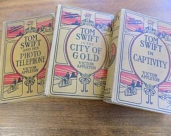 Vintage Tom Swift Books book