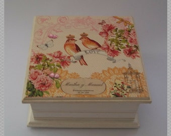 Romantic Birds Jewelry Box